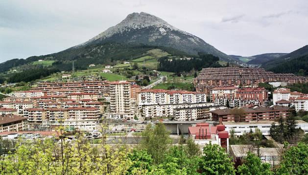 Imagen del municipio de Mondragón, donde se encontró el bebé.