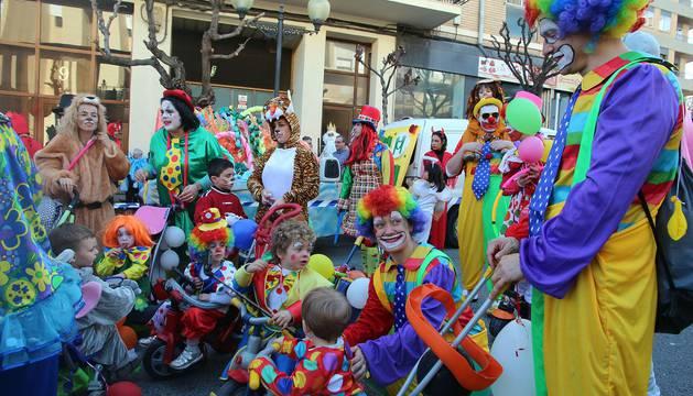 Desfile de carnaval del domingo en Tudela