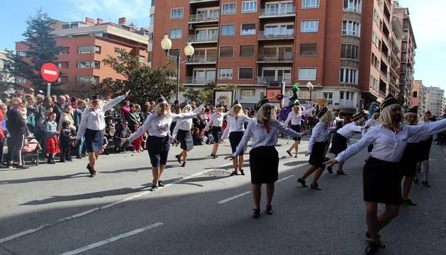 Fotos de los mejores disfraces de carnaval del desfile del domingo en Tudeola
