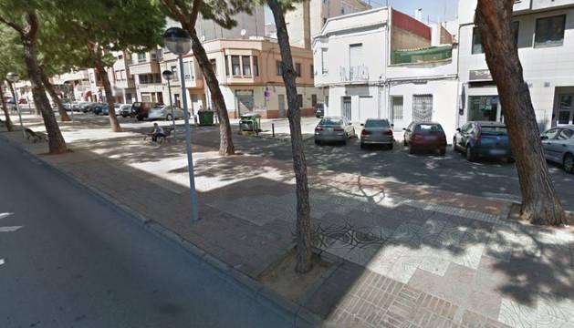 La calle en la que ocurrió la pelea.