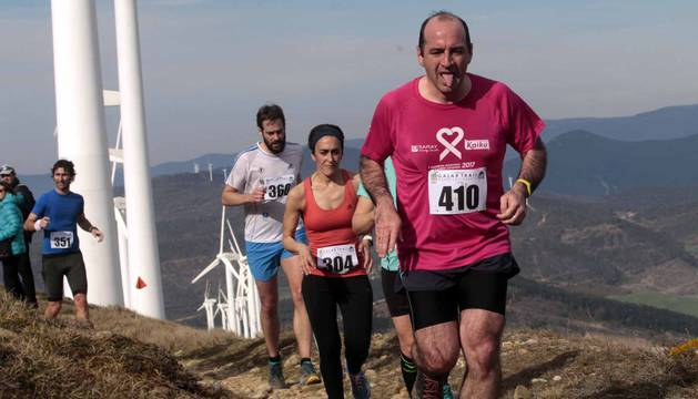 Galería de imágenes de la carrera de montaña disputada este domingo, 3 de marzo, con salida y llegada en Subiza.