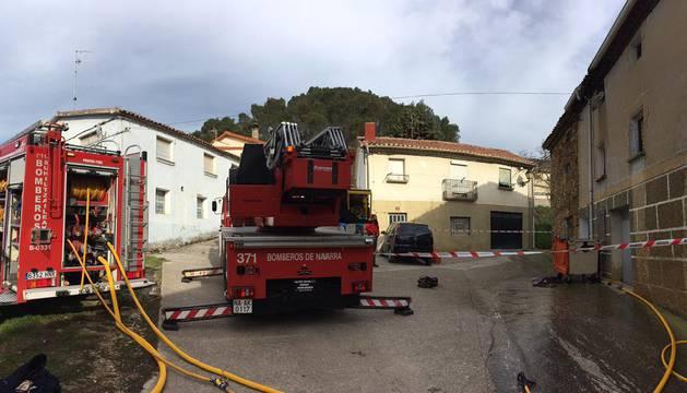 Extinguido un incendio en una vivienda de Zubielqui, que no deja heridos