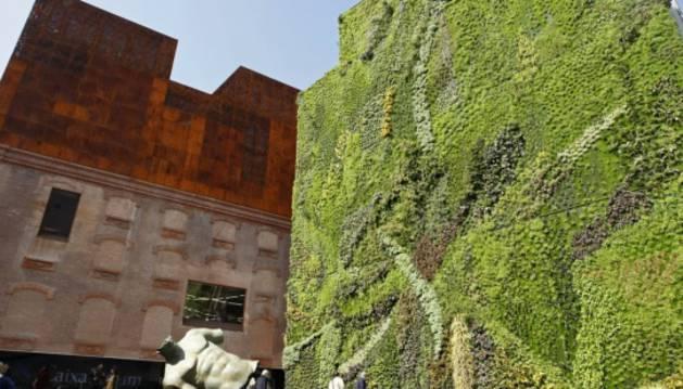 Foto del Caixaforum de Madrid.