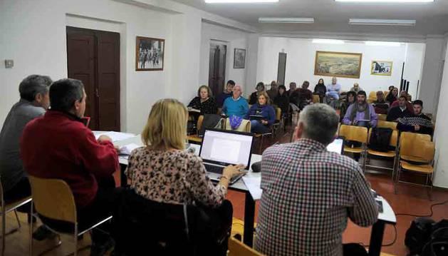 Imagen de una asamblea de Mairaga anterior.
