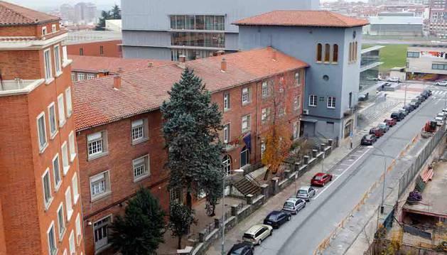 Sede del departamento de Derechos Sociales del Gobierno de Navarra, en la calle González Tablas de Pamplona.