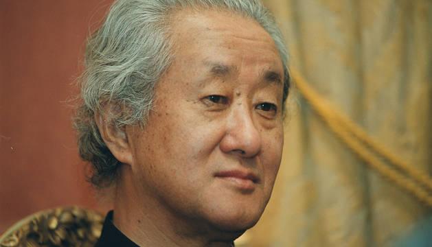 Foto del arquitecto, urbanista y teórico japonés Arata Isozaki.