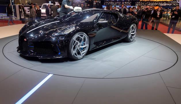 Bugatti exhibe en Ginebra