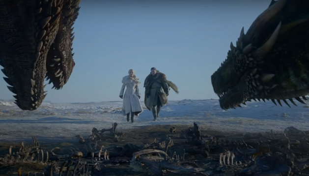 Fotograma de la octava y última temporada de 'Juego de Tronos'.