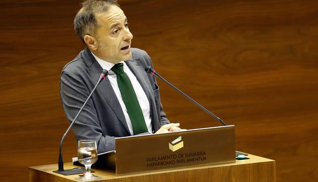 El parlamentario de UPN Juan Luis Sánchez de Muniain.