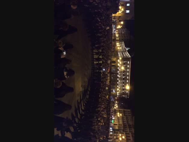 Concentración en la Plaza del Castillo el 8M
