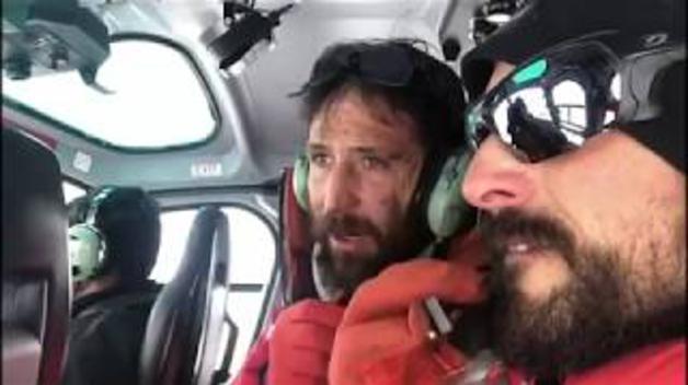 Rescate en el Nanga Parbat tomadas por el equipo de Alex Txikon