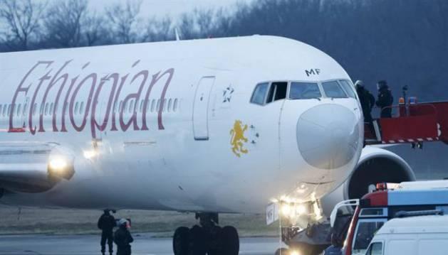 Foto de un avión de la compañía Ethiopian Airlines.
