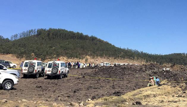 Dos españoles entre los muertos del avión que se ha estrellado en Etiopía
