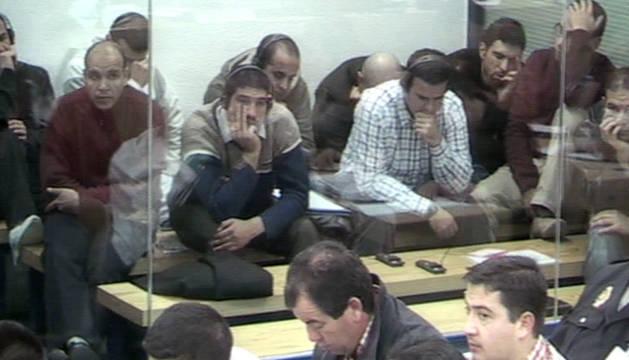 Imagen del proceso judicial de los atentados del 11-M