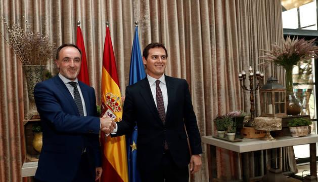 UPN y Ciudadanos sellan su alianza con un reconocimiento expreso al régimen foral de Navarra
