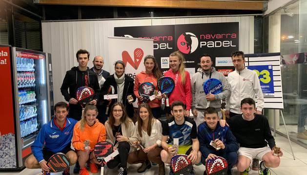 Foto de campeones en categoría sub-23.