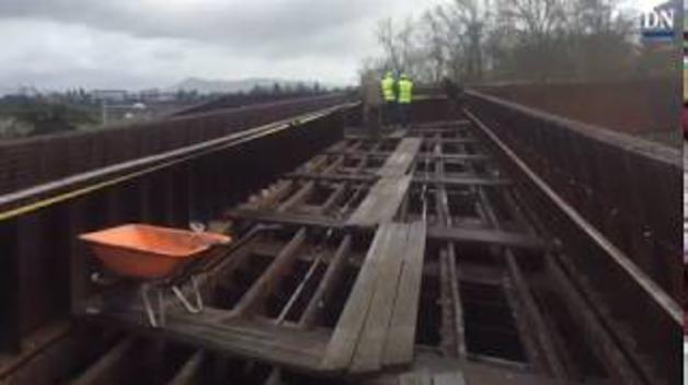 Vídeo de los trabajos en la pasarela de Labrit