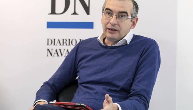 Sergio Gómez Salvador, durante una de sus intervenciones.