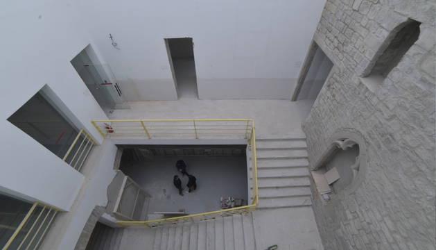 Así quedará el nuevo centro comunitario Plazara en el Palacio Redín y Cruzat