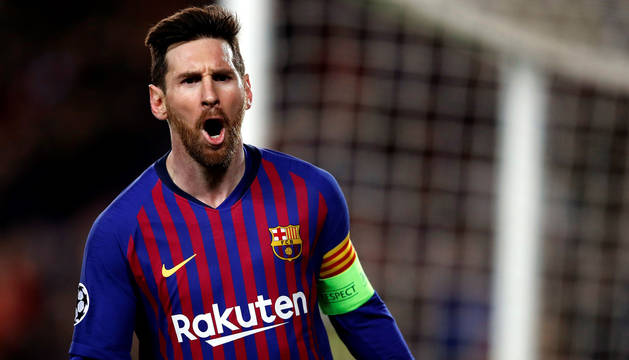 Messi acaba con el sufrimiento y mete al Barça en cuartos