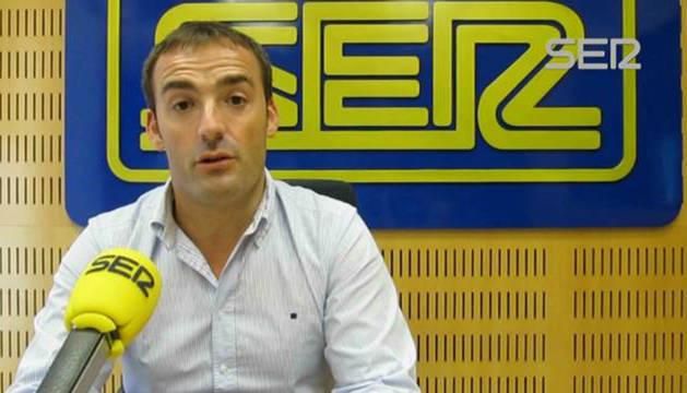 El periodista Pedro Morata.