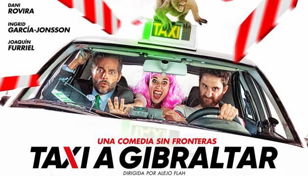 Cartel de 'Taxi a Gibraltar'.