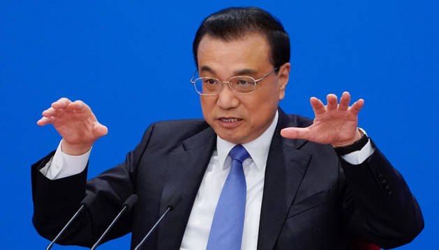 foto de El primer ministro chino, Li Keqiang.