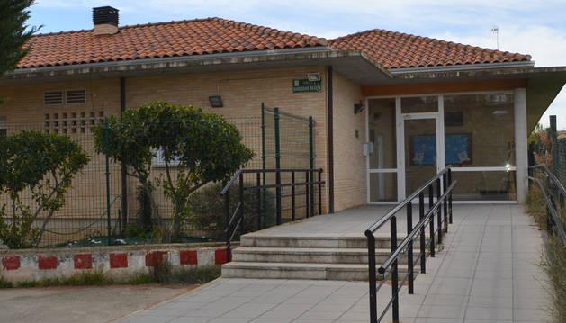 Exterior de la residencia de ancianos de Andosilla.