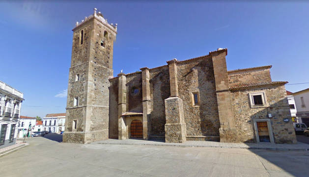 Imagen de la localidad de Madrigalejo, donde se ha producido el accidente.