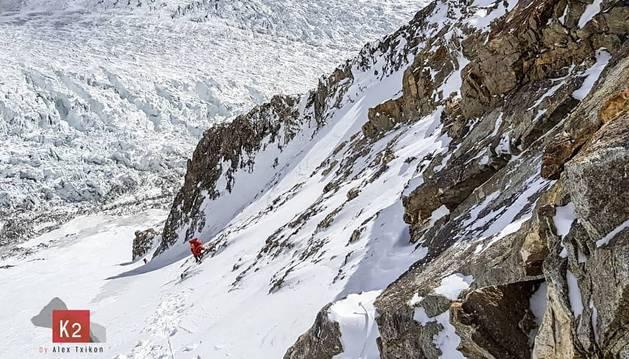 foto de Por las laderas del K2 hacia el campo II (6.500 m)