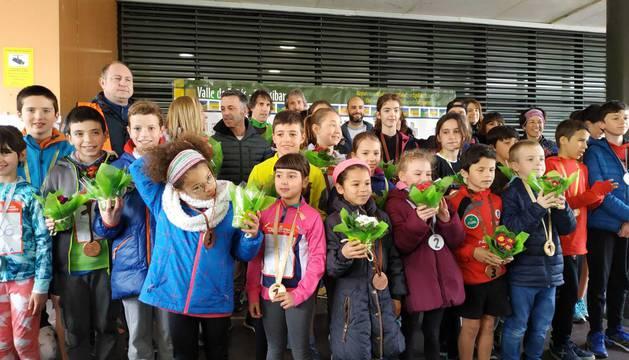 Fotos de la quinta Carrera Solidaria Pro Hiru Hamabi de Sarriguren