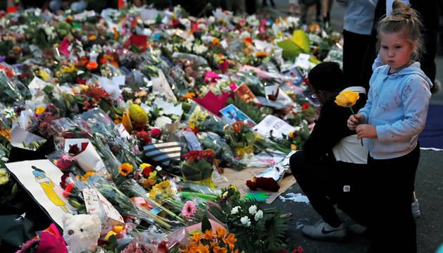 foto de Memorial por las víctimas del atentado terrorista en Nueva Zelanda