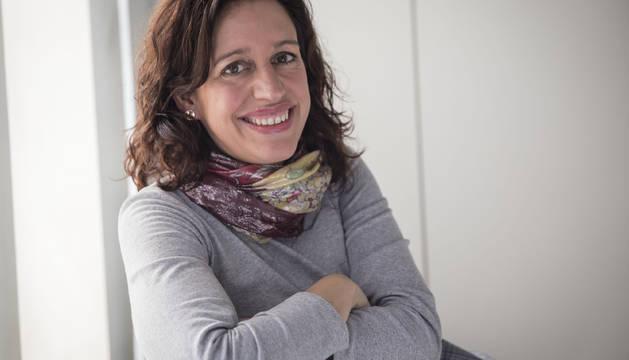 Isabel Carrilero, coordinadora de Naveac (Navarra de vehículo eléctrico, autónomo y conectado).