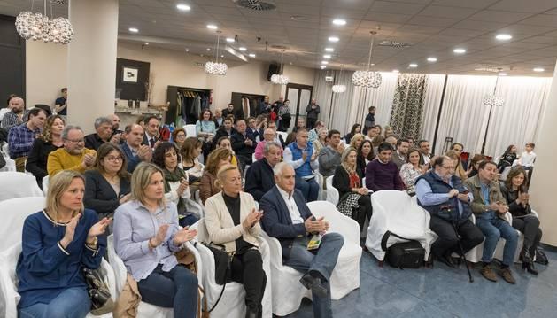 Parte de los asistentes a la presentación oficial de las XXV Jornadas de la Verdura de Tudela.