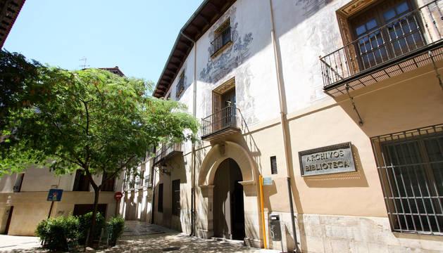 Imagen del Archivo Municipal de Tudela.