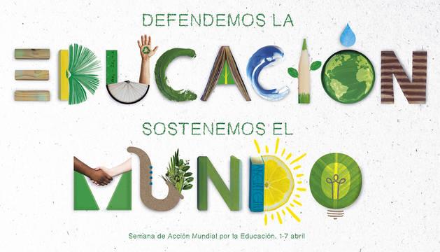 foto de Cartel de la Semana de Acción Mundial por la Educación (SAME) 2019