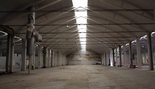 Estado de la antigua fábrica de SuperSer, donde se instalará Ikea