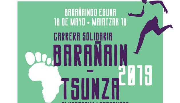 Abiertas las inscripciones para la carrera solidaria Barañáin-Tsunza 2019