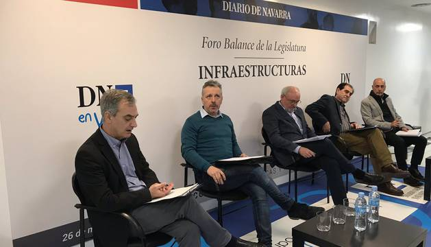En el foro de infraestructuras, este jueves en Diario de Navarra