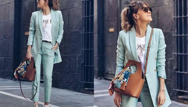 Ane Hernado aconseja cómo llevar un traje con zapatillas.