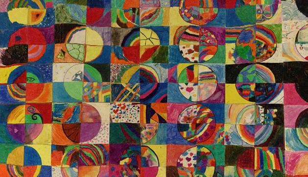 'Mosaico', del Colegio Santa Catalina Labouré.