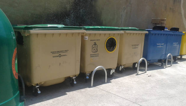 Valdizarbe limita por medio del cambio de tapa los contenedores de resto