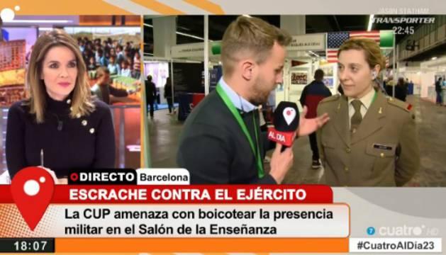 Imagen de la entrevista de Cuatro a Julia Mejide.