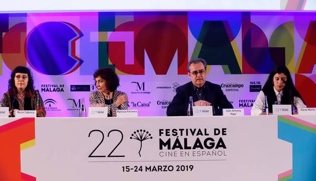 foto de Lectura del fallo del palmarés del 22 Festival de Cine Málaga.