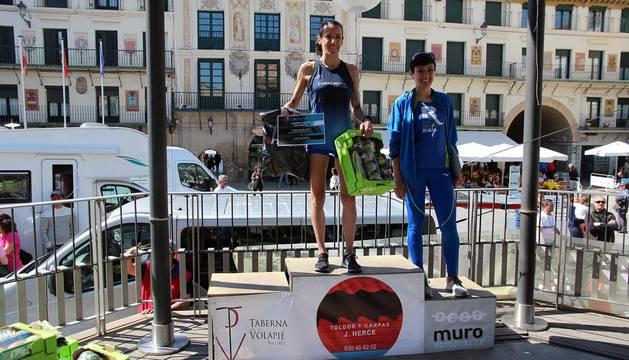 Imagénes de la Media Maratón y 10 km Estela Navascués en Tudela