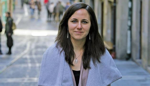 foto de La candidata al Congreso de Unidas Podemos por Navarra, Ione Belarra