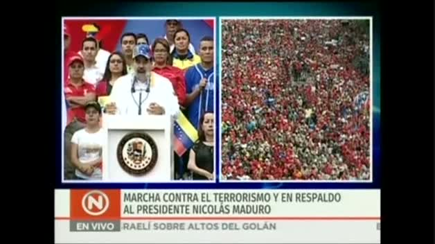 Maduro asegura que ha desmantelado un plan para asesinarle orquestado por Guaidó