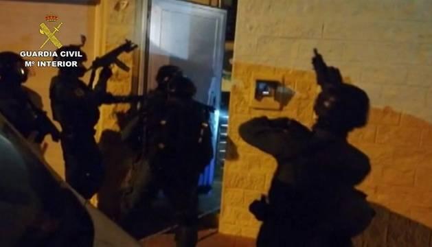 La Guardia Civil actúa en el marco de la operación Tardo