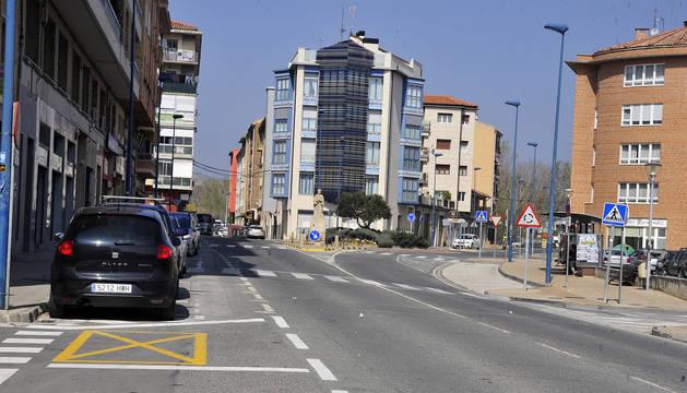 Proponen volver a considerar la ordenación del tráfico en la travesía de Tafalla