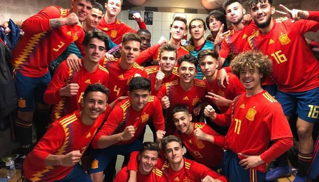 Selección española sub-17.